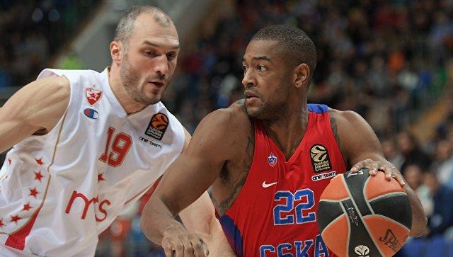 Баскетболисты московского ЦСКА одержали 16-ю победу туре стабильного чемпионата Евролиги