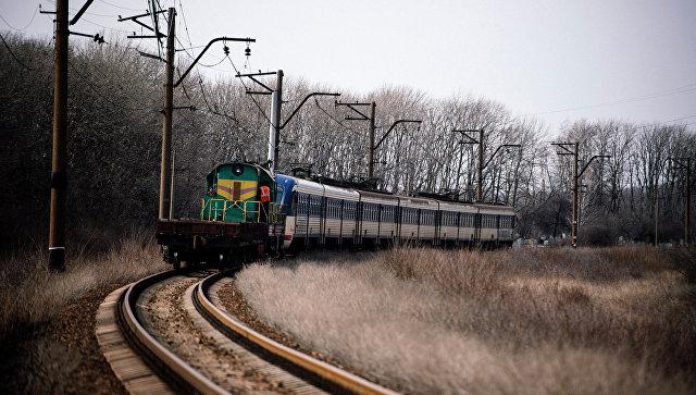 Железнодорожное сообщение между Ясиноватой и Луганском. Архивное