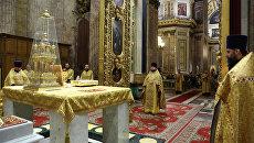 Божественная литургия в Исаакиевском соборе