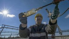 Оператор по добыче нефти и газа ООО РН-Пурнефтегаз. Архивное фото