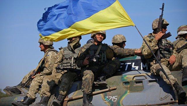 Солдаты ВСУ на востоке Украины. Архивное фото