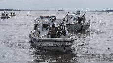 Лодки нигерийского военно-морского флота. Архивное фото
