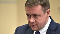 Назначенный Указом президента РФ временно исполняющим обязанности губернатора Рязанской области Николай Любимов. 14 февраля 2017