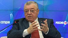 Глава Общественной палаты Республики Крым Григорий Иоффе. Архивное фото