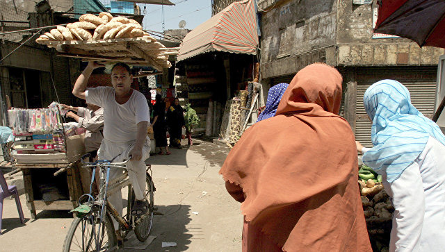Уличный рынок в Каире, Египет. Архивное фото