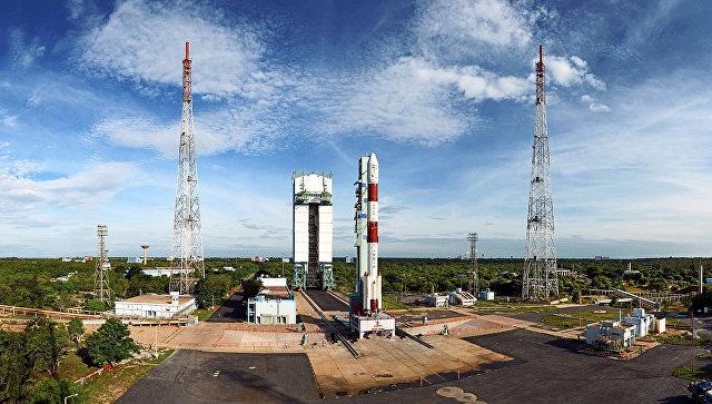 Ракета на космодроме в Индии, архивное фото