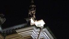 Ночной Эрмитаж. Архивное фото