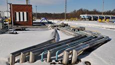 Бильче-Волыцко-Угерское газохранилище в Стрыйском районе Львовской области. Архивное фото
