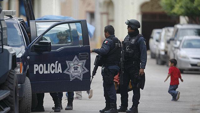 Сотрудники правоохранительных органов Мексики. Архивное фото