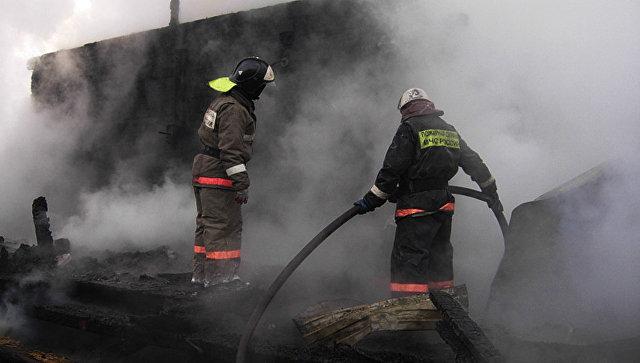 ВНаро-Фоминске врезультате сильного возгорания никто непострадал
