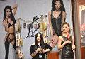 Участники на Международной выставке нижнего белья, купальников, домашней одежды и чулочных изделий Lingerie Show-Forum - 2017 в Москве
