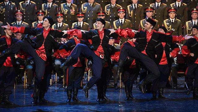 На майских концертах ансамбля имени Александрова в Чехии ожидается аншлаг