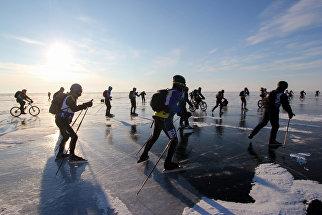 Байкальская экстремальная гонка Ледовый шторм