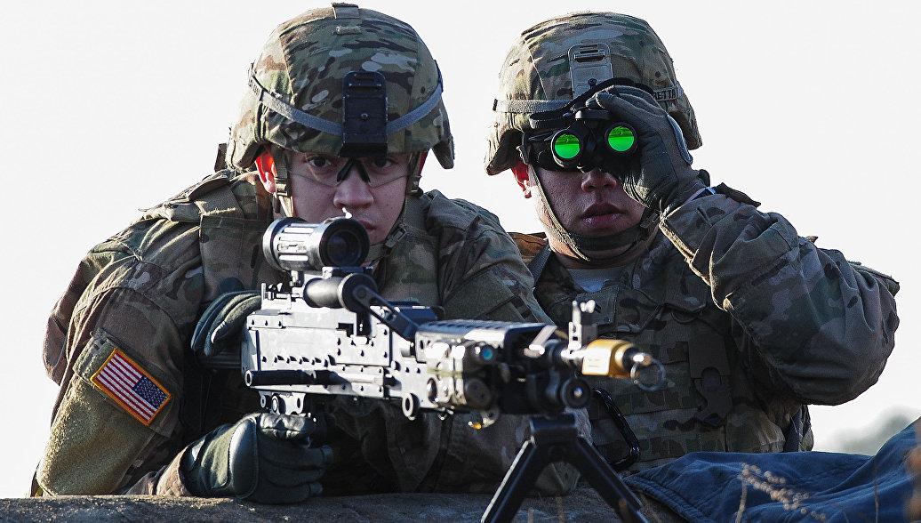 В Эстонии американские солдаты учатся воевать в зимних условиях