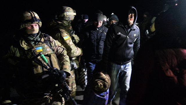 ВВоеннопленные ДНР и ЛНР. Архивное фото