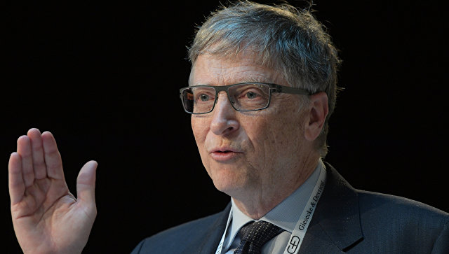 Бывший генеральный директор Microsoft Билл Гейтс. Архивное фото