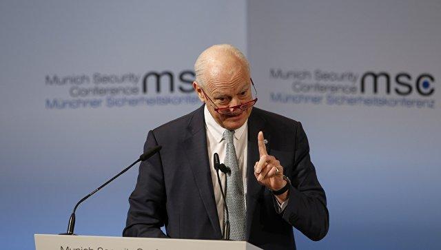 Генеральный секретарь ООН выразил осторожный оптимизм поповоду переговоров поСирии вЖеневе