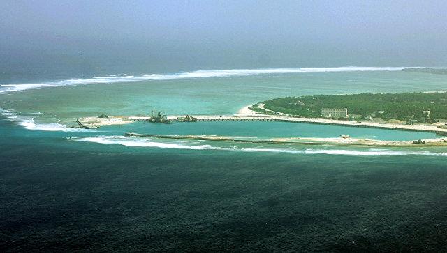 Вид на остров Вуди в Южно-Китайском море