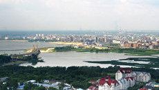 Панорама Казани. Архивное фото