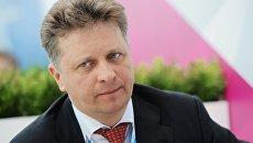 Министр транспорта РФ Максим Соколов на Российском инвестиционном форуме в Сочи. Архив