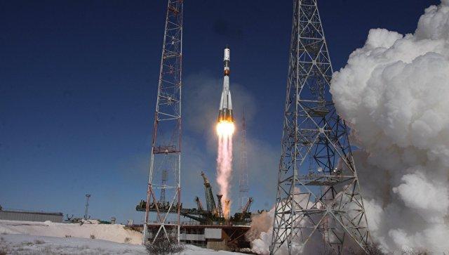 Запуск ракеты-носителя Союз-У с грузовым кораблем Прогресс МС-05. Архивное фото