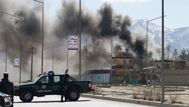 Смертник подорвался рядом с русским посольством вКабуле