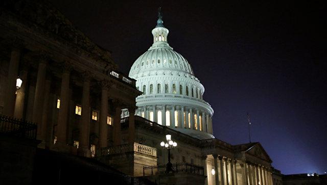 Здание Конгресса США в Вашингтоне. 28 февраля 2017 года