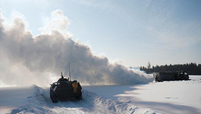 Войска химической защиты провели учения вСамарской области