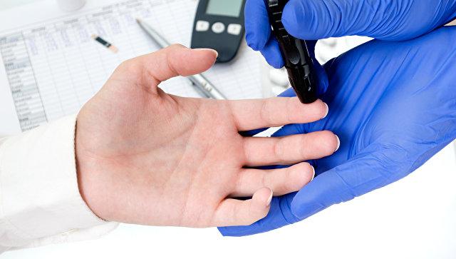 Тест на уровень сахара в крови