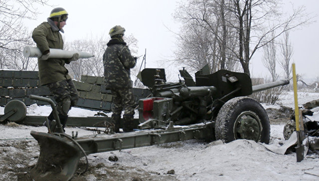 Пятеро украинских силовиков подорвались намине вДонбассе