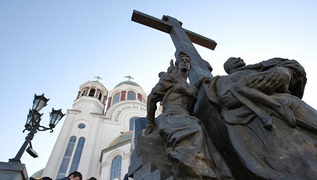 Храм-на-Крови в Екатеринбурге. Архивное фото