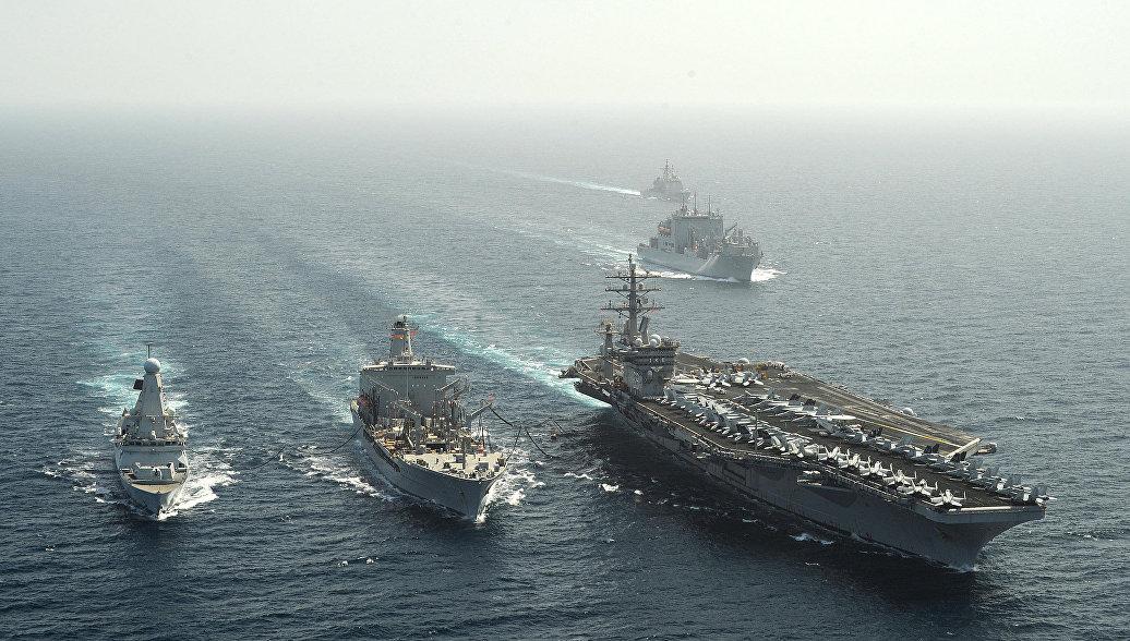 Второй авианосец ВМС США вошел в воды Средиземного моря