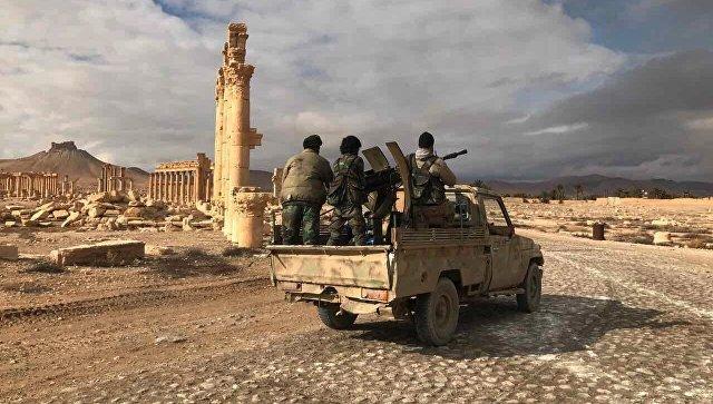 """Сирийская армия ведет огонь """"ан-Нусре""""* на подступах к городу Хама"""
