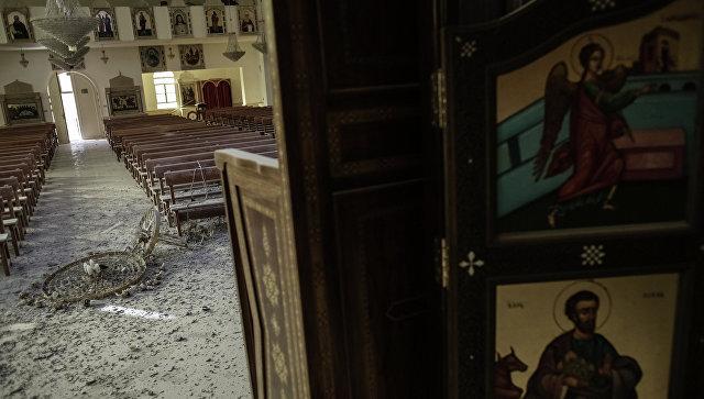 Боевые действия в христианском городе Маалюла. Архивное фото