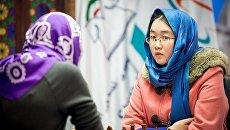 Чемпионка мира по шахматам китаянка Тань Чжунъи. Архивное фото