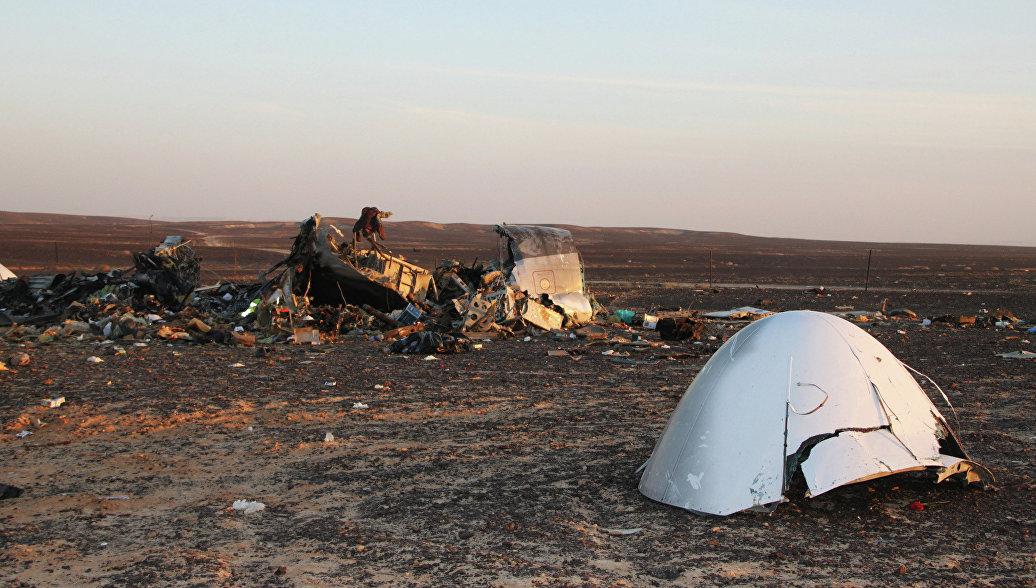 СМИ: спутник США обнаружил тепловую вспышку при падении А321 на Синае