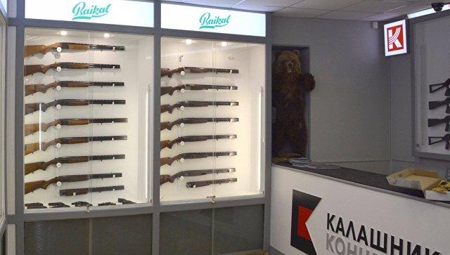Концерн Калашников открыл первую бренд-зону в Москве