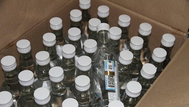 ВПетербурге арестовали неменее 248 тыс. бутылок элитной водки