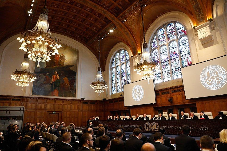 Украина выложила суду вГааге список требований