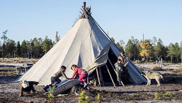 Представители коренных народов Севера. Архивное фото
