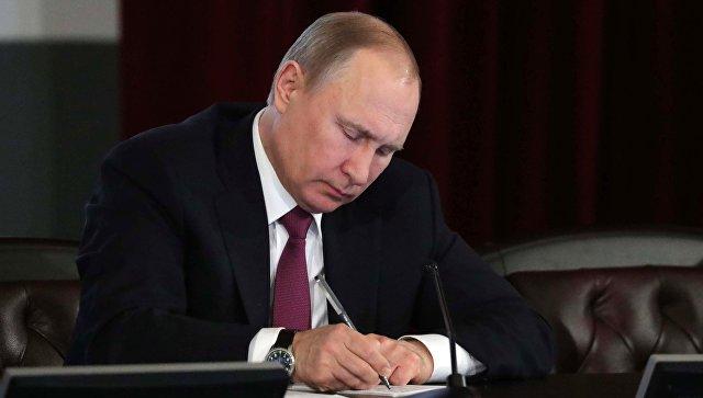 Владимир Путин сократил  ряд глав региональных управлений СКР, МВД иФСИН