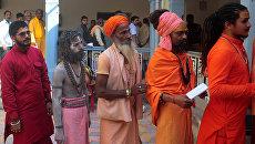 Голосование на региональных выборах в штате Уттар-Прадеш. Индия. Архивное фото