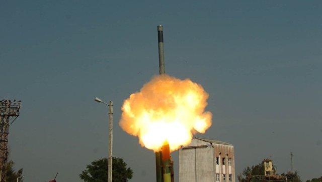 Индия удачно проверила ракету «БраМос» сувеличенной дальностью полета