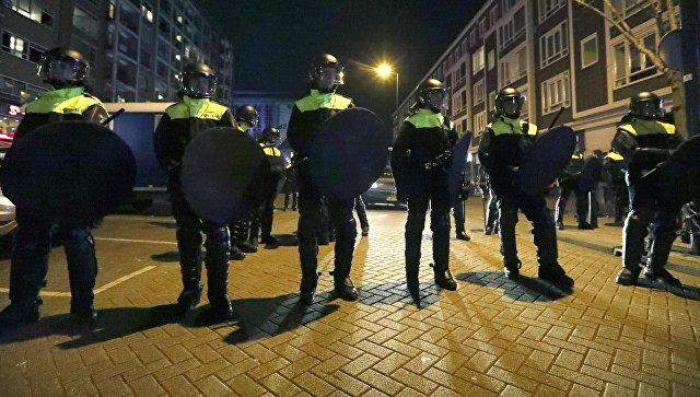 ВРоттердаме начались столкновения после инцидента стурецким министром