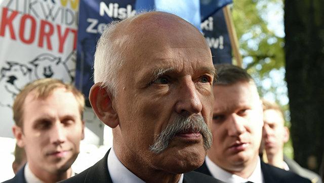 Депутат Европарламента Януш Корвин-Микке. Архивное фото