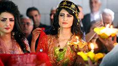 Показ мод сирийских курдов в городе Эль-Камышлы, Сирия