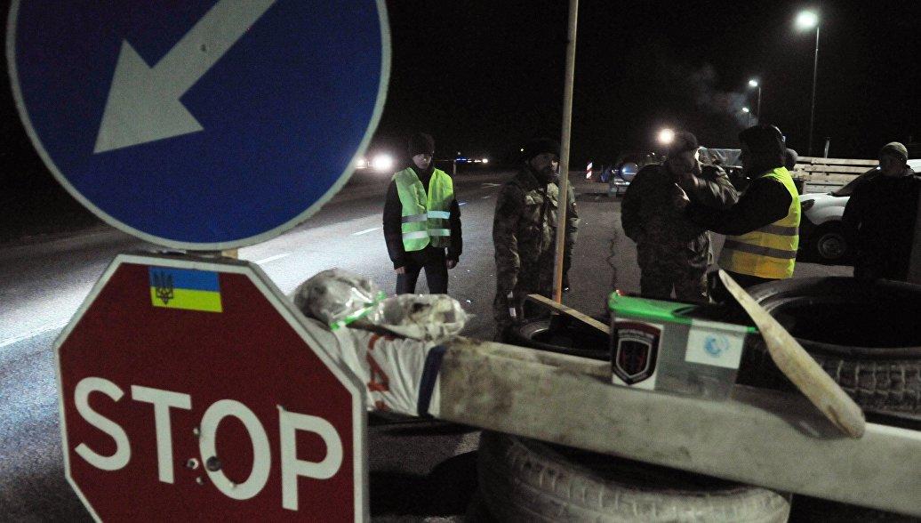 Киев предложил Москве платное сопровождение фур на Украине