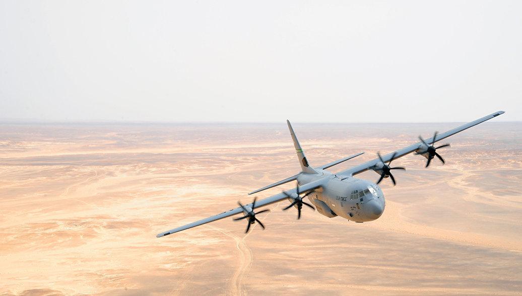 Американский истребитель столкнулся с самолетом KC-130 у побережья Японии