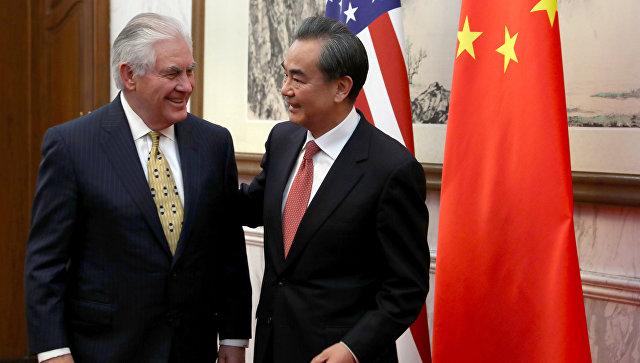 КНДР стала основной  темой встречи Тиллерсона сглавой МИД Китая