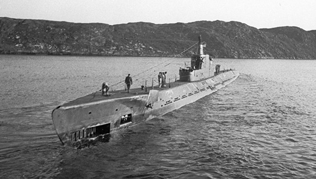 Подводная лодка К-21 под командованием капитана 3-го ранга Николая Лунина отправляется в поход. Северный флот. 1941 год